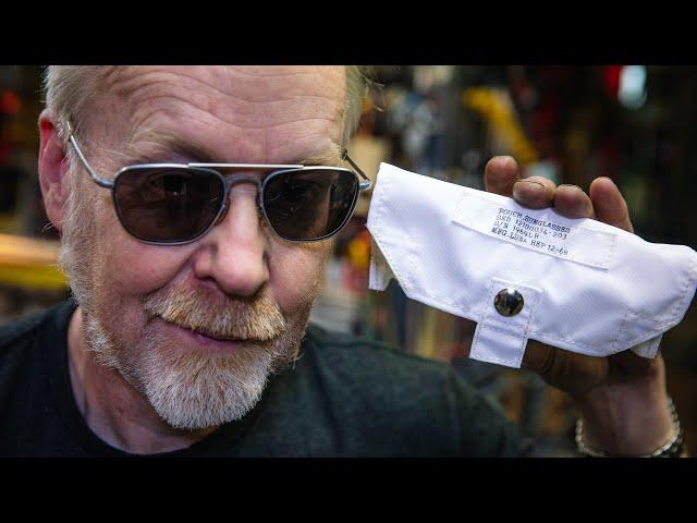 How Adam Savage Stores His Vintage Aerospace Sunglasses