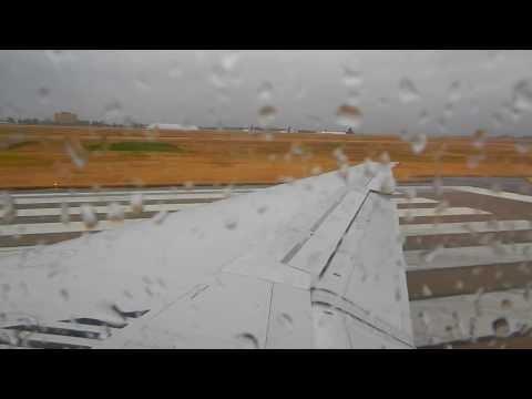 Stormy Takeoff from Nashville International Airport (BNA)