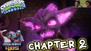 Lets Play Skylanders Swap Force: Part 4 - Cascade Glade (Chapter 2)