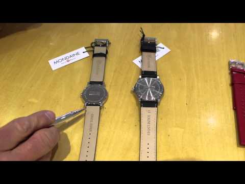 Choosing a Mondaine watch strap