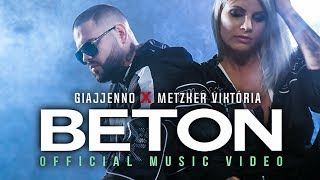 GIAJJENNO x METZKER VIKTÓRIA - BETON | OFFICIAL MUSIC VIDEO |