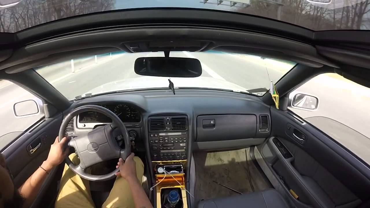 cabin view of manual swapped ls400 1uz motor youtube rh youtube com 2016 Lexus LS400 lexus ls400 manual transmission swap