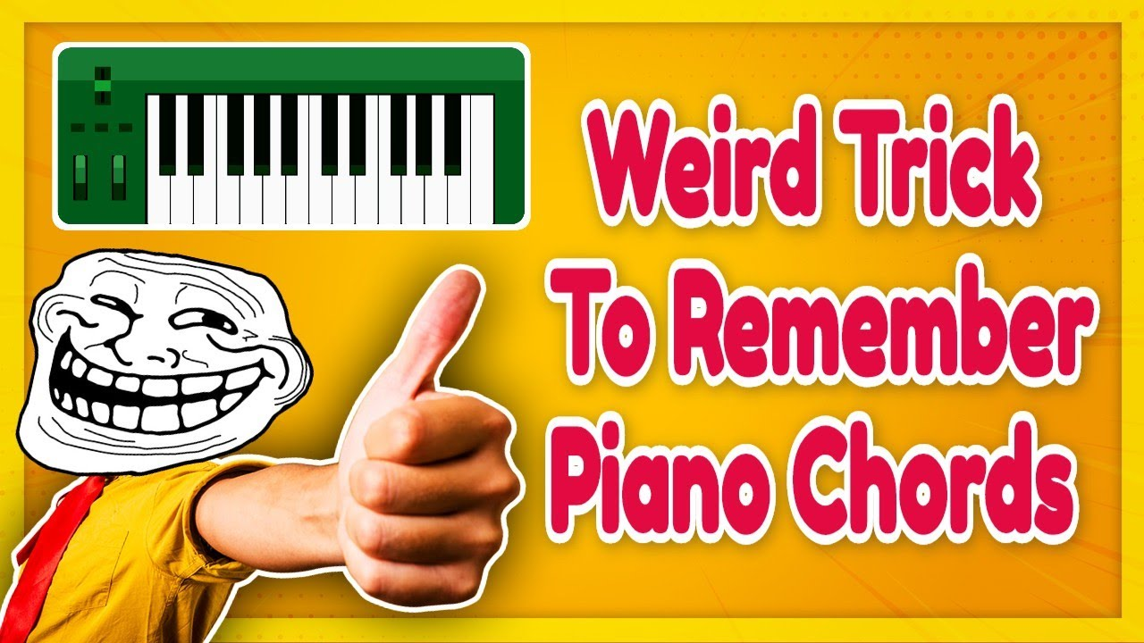 Weired trick to remember all major minor piano chords quickly weired trick to remember all major minor piano chords quickly hexwebz Images