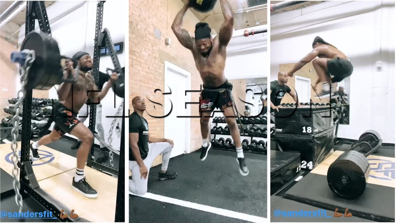 Derrick Henry in MVP Form, Shows Elite Explosiveness and Power Gym Workout