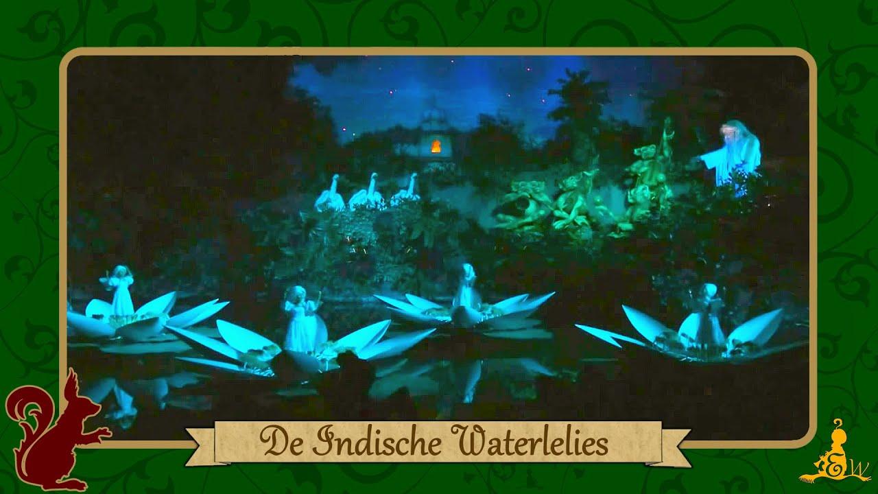 Efteling Sprookjesbos De Indische Waterlelies  YouTube