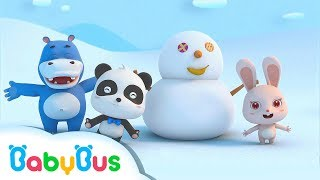 ❤ Snowman Adventure | Animation For Babies | BabyBus