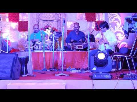 Indian Classical santoor, flute and tabla trio