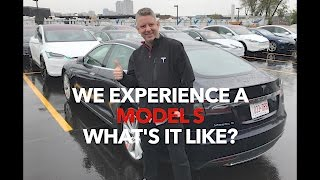 We experience a Model S What