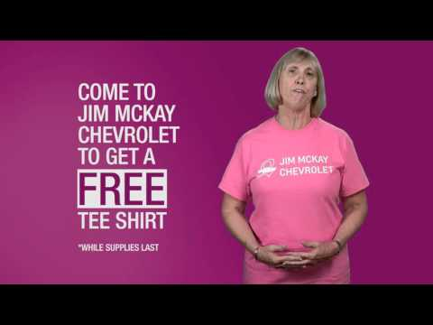 Breast Cancer Awareness At Jim Mckay Chevrolet Youtube