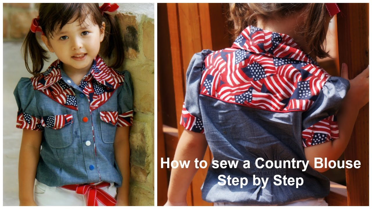 How to sew a blouse western style step by step sewing how to sew a blouse western style step by step sewing instructions jeuxipadfo Images