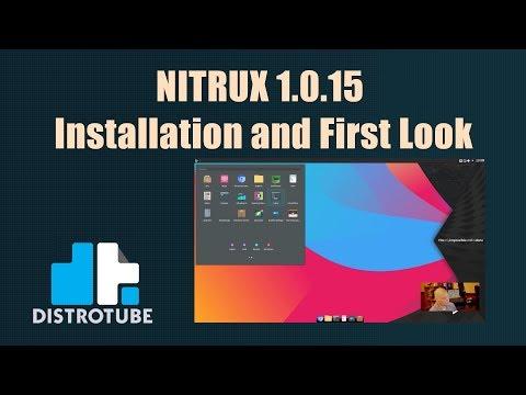 Nitrux — #YourNextOS