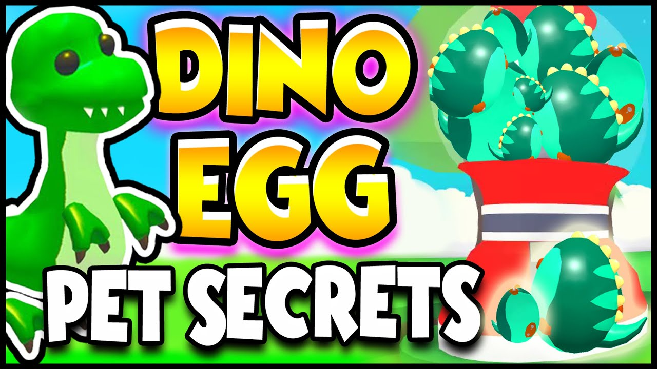 Exposed Dino Pet Secrets In Adopt Me Prezley Youtube