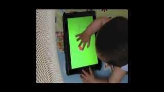 The best free iPad app for babies from 6 months. La mejor app gratis para bebes de 6 meses.