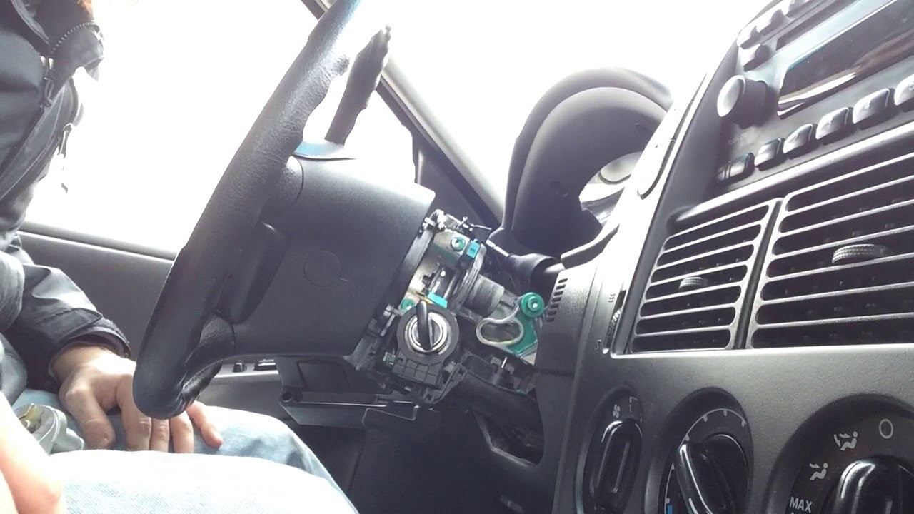 2002 Ford Explorer Column Shifter Lever Bracket Repair Part 1