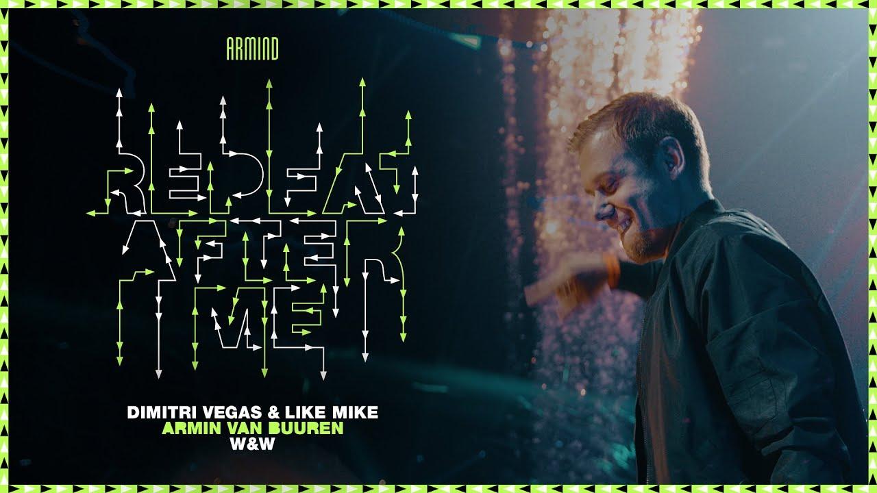 Dimitri Vegas & Like Mike x Armin van Buuren x W&W - Repeat After Me (Official Music Video)