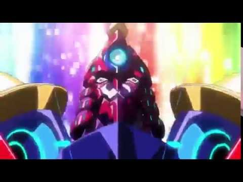 Super galaxy gurren lagann transformation