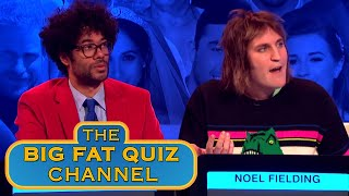 Jimmy Disappointed In Richard Ayoade and Noel Fielding | Big Fat Quiz Of The Year 2018