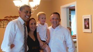 President Obama in Cedar Rapids, Iowa: The McLaughlins and Middle-Class Tax Cuts
