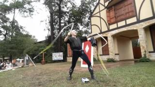 Guinness World Record: Most Whip cracks with Two Whips in One Minute
