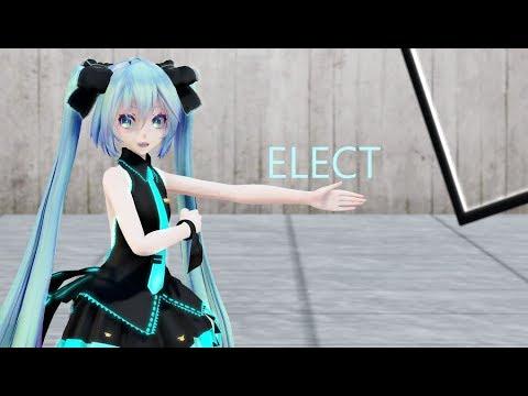 mmd tda式作品_{MMD} ELECT / TDA式初音ミク背中見せデフォ服 {1080p} - YouTube