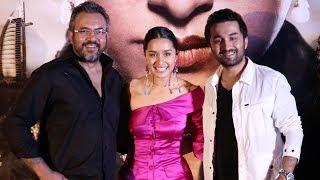 Haseena Parkar Official Trailer Launch- Shraddha Kapoor, Siddhanth Kapoor And Apoorva Lakhia