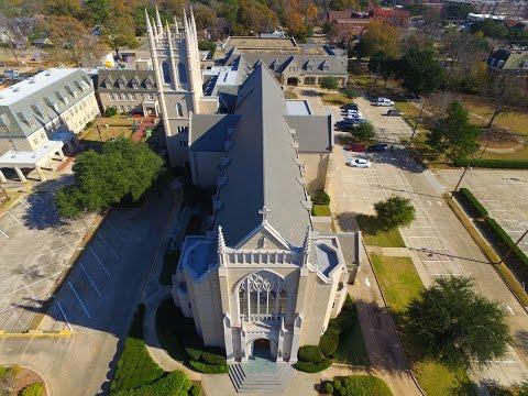 St.  Marks Cathedral- Shreveport, La | A DJI Phantom 3 Professional Drone Video