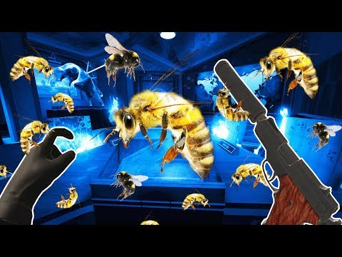 I Became a Secret Agent and Got Attacked by Evil Bees in I Expect You to Die VR! |