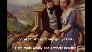 Robert Schumann - Dichterliebe, Op. 48 Pt 1-4 Fischer-Dieskau Salzburg 1956