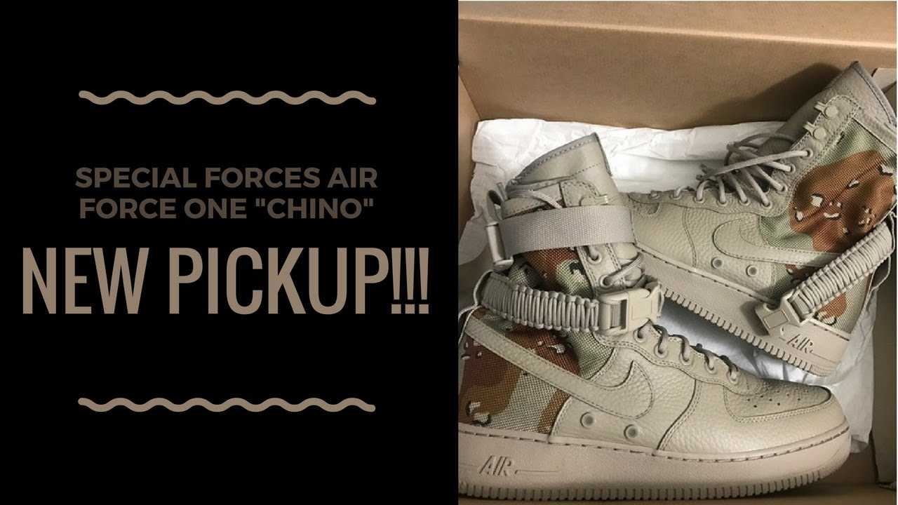 f7f40834ad8bdc New Pickups!!! SF AF1 Chino