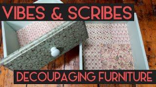 Decoupaging Furniture