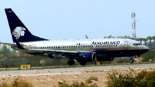 Video Aeromexico Boeing 737-700 Take off Mexicali download MP3, 3GP, MP4, WEBM, AVI, FLV Agustus 2018