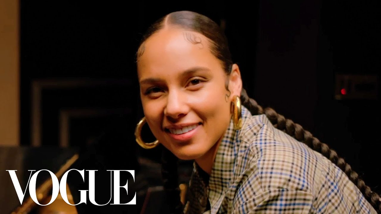 73 Questions With Alicia Keys | Vogue