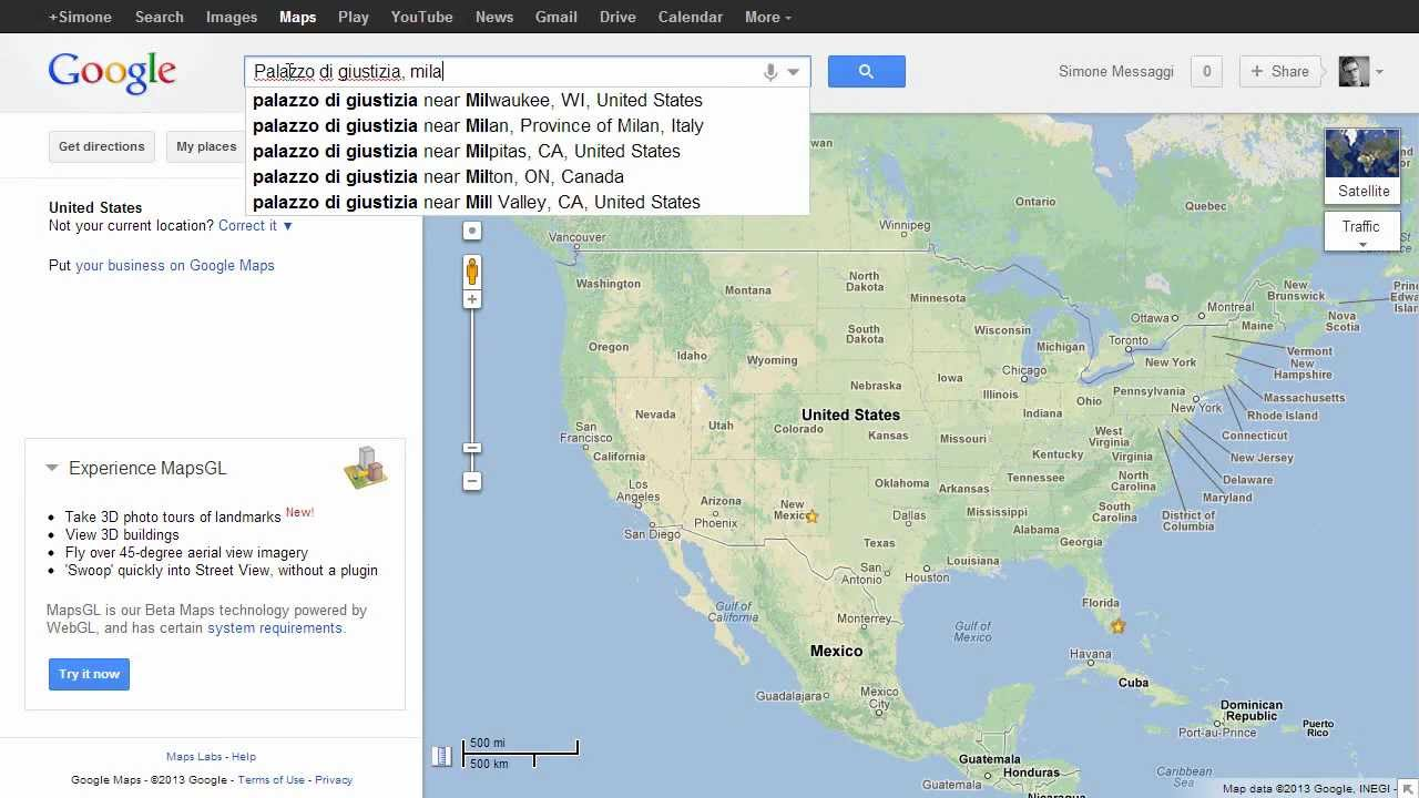 How To Find Latitude And Longitude In Google Maps  Seconds - Map with latitude and longitude represented as parallel