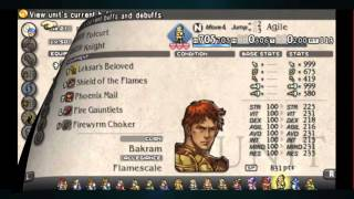 Tactics Ogre All maxed characters /Dream Team