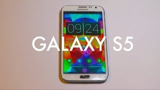 Tutorial: Turn your phone into the Galaxy S5!