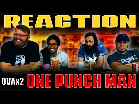 """One Punch Man: OVA #2 REACTION!! """"The Pupil Who Is An Extremely Poor Talker"""""""