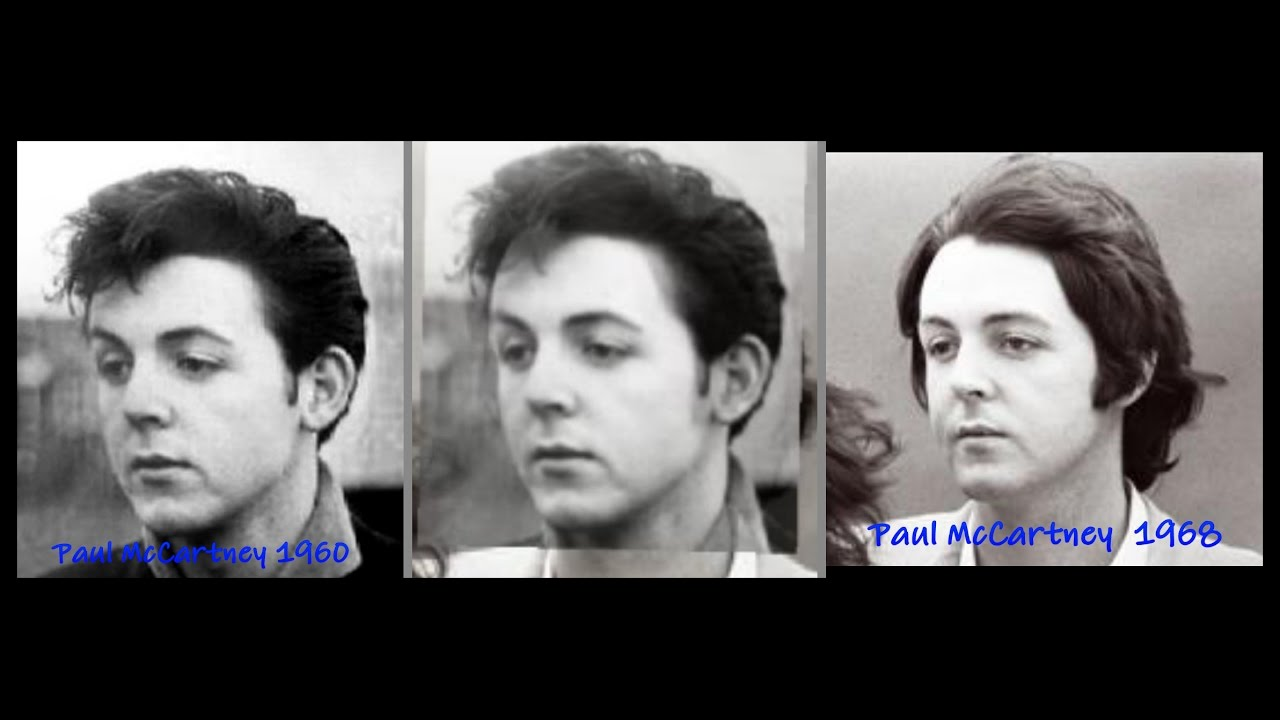 Paul McCartney Photo Comparison 1960