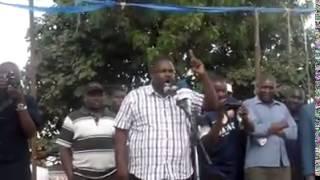 George Aladwa Hate speech.  Arrest this man