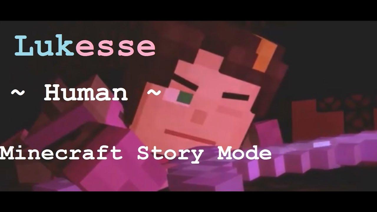Lukas X Jesse Human Collab Minecraft Story Mode By Greyfox