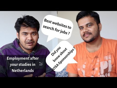 Application Process For Working In The Netherlands - Jobs, Ph.D. Or PDEng - Part 1