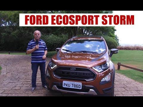Ford EcoSport Storm - Impressões ao dirigir do Emilio Camanzi