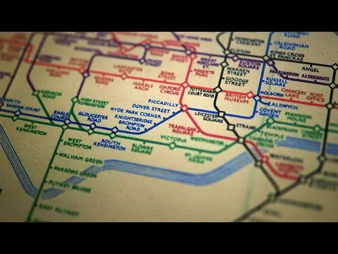 "The genius of the London Tube Map | Michael Bierut on ""Small Thing Big Idea"""