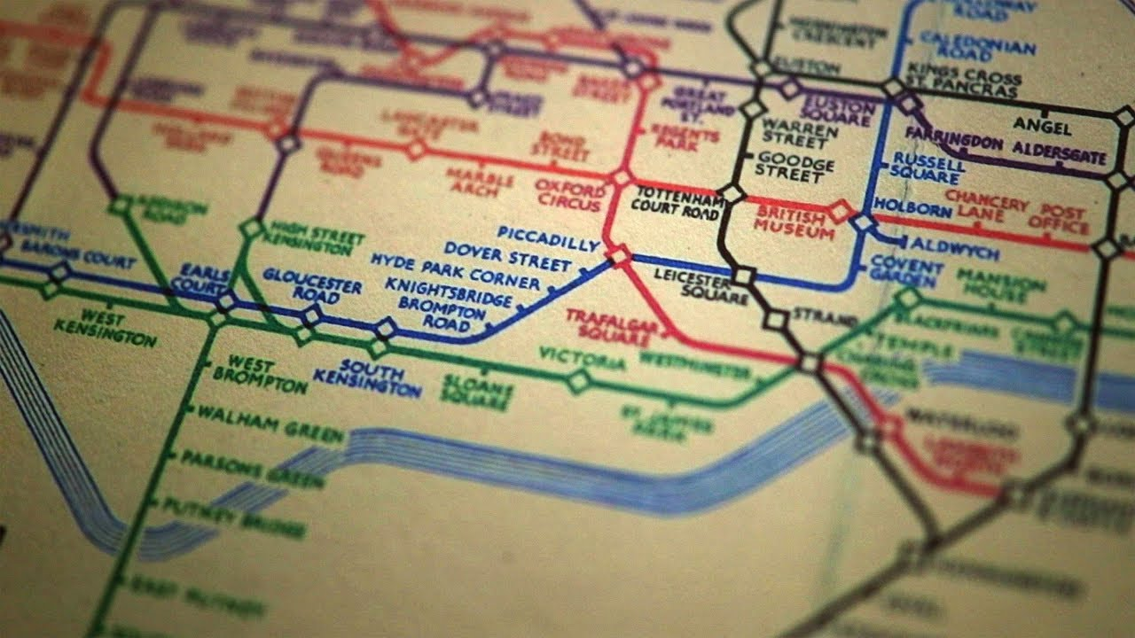 the genius of the london tube map michael bierut on small thing big idea