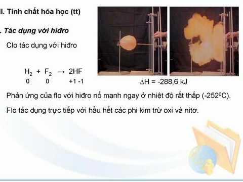 Bài 1 : Flo == Ôn thi Đại học - Hóa học