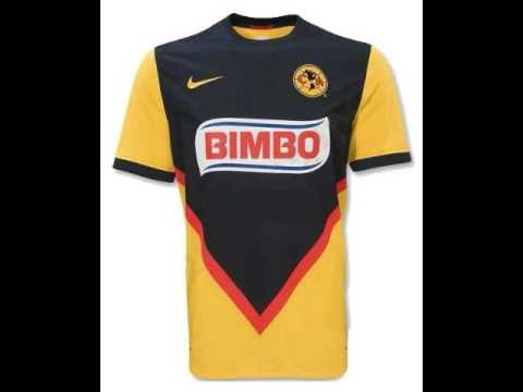 Uniforme del club america temporada 2009 2010 youtube for Cuarto uniforme del america