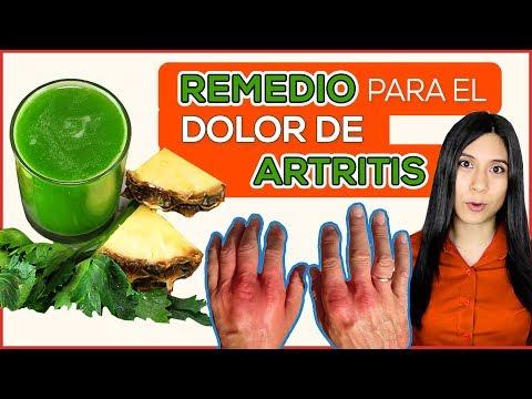 Receta para la Artritis: Jugo verde para Aliviar el Dolor de Artritis ¡Remedio Casero!