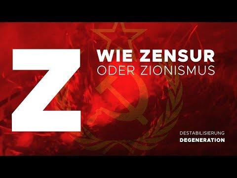 [Gastbeitrag] Z - wie Zensur oder Zionismus
