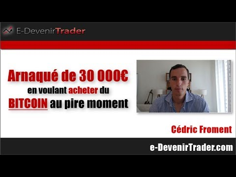 Arnaqué de 30 000€ en voulant acheter du Bitcoin (au pire moment!)