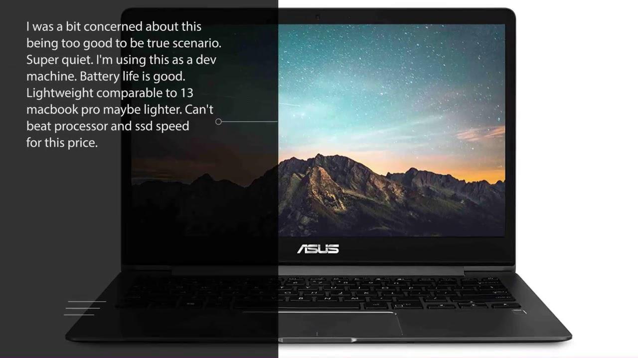 Asus Zenbook 13 Ultra Slim Laptop 13 3 Full Hd Wideview 8th Gen Intel Core I5 8265u Ux331fa As51 Youtube
