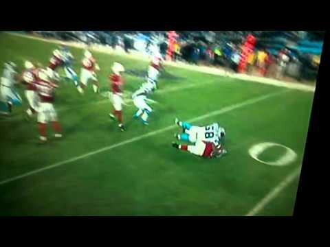Huge hit by Thomas Davis! NFC Championship